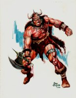 Conan Mixed Media Stunning Pinup (2006) Comic Art