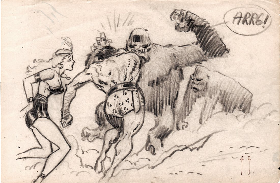 'Son Of Tarzan' Cover Prelim (1963)