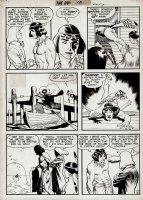 Durango Kid #14 p 2 (Large Art) 1951 Comic Art
