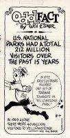 Odd Fact Newspaper Strip By Will Eisner - 8-4-1975 Comic Art