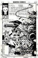 Punisher War Journal #58 Cover (1993) Comic Art