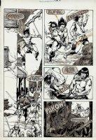 Savage Sword of Conan #118 p 23 (1985) Comic Art