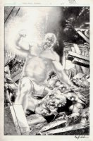 Thor: First Thunder #4 Cover (2010) Comic Art