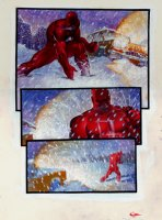 Daredevil/Black Widow: Abattoir Graphic Novel p 39 (Large Art) 1993 Comic Art