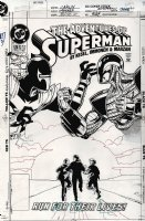 Adventures of Superman #524 Cover (1995) Page k Comic Art