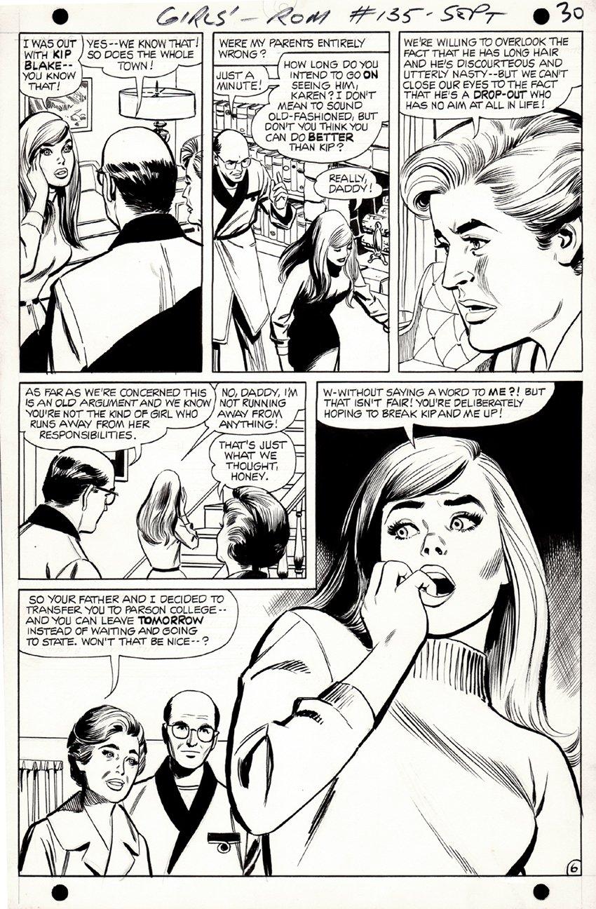 Girls' Romances #135 p 6 (1968)