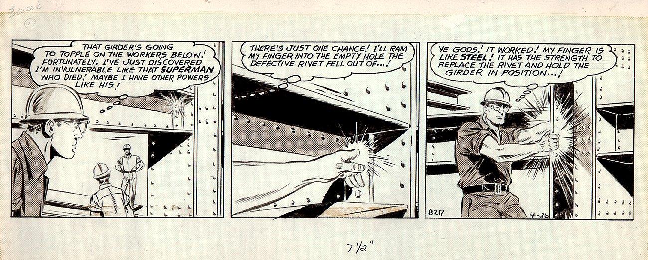 Superman Daily Strip (4-26-1965)