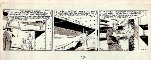 Superman Daily Strip (4-26-1965) Comic Art
