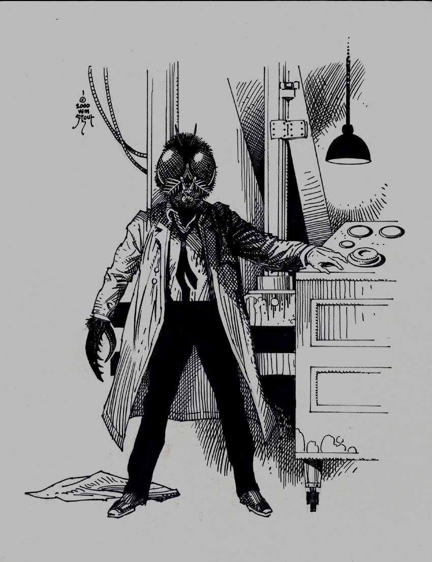 'The Fly' Published Pinup (2000)