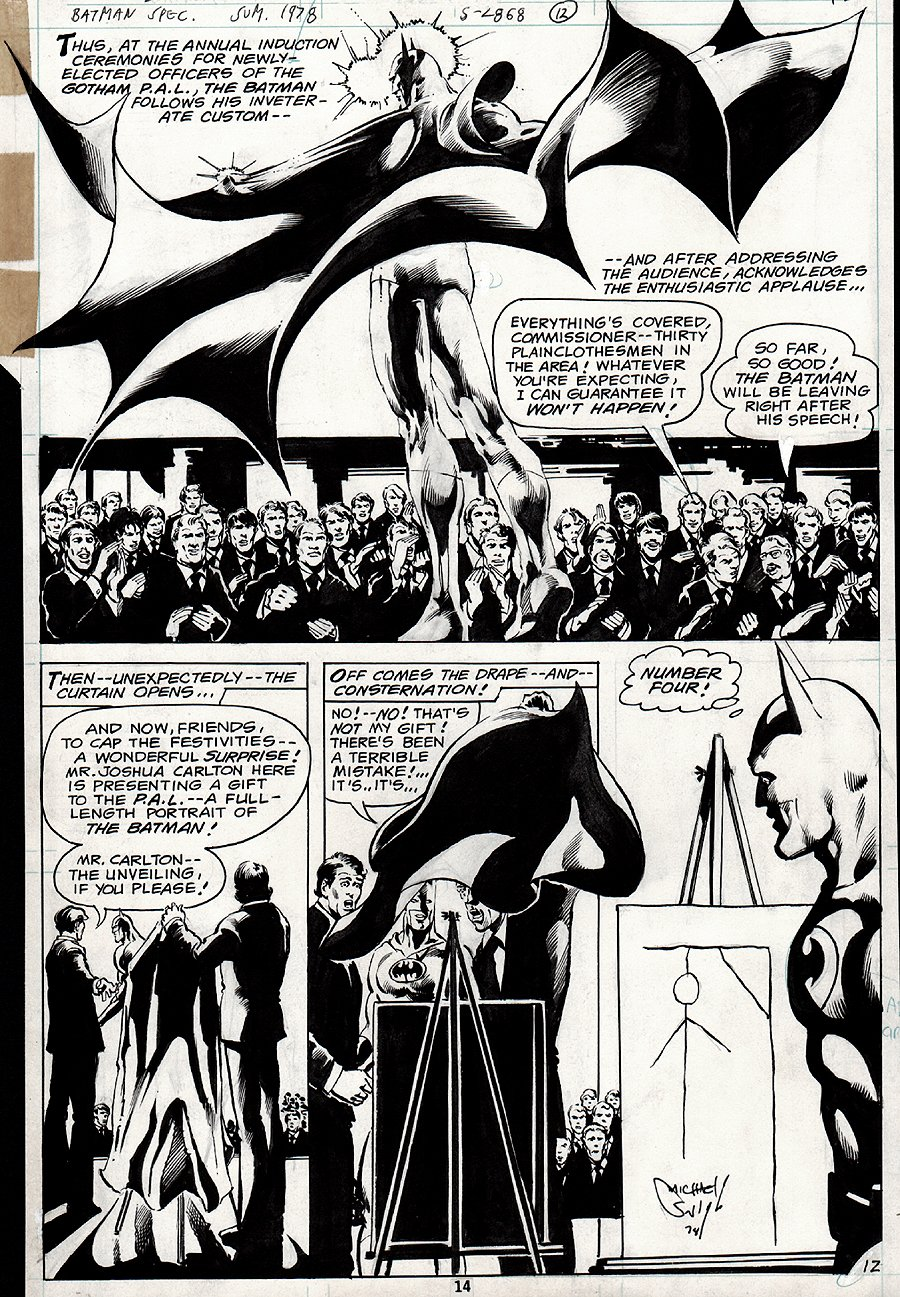 DC Special Series #15 p 12 SEMI-SPLASH (1978)