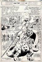 Superboy & the Legion of Super-Heroes #222 p 1 SPLASH (1976) Comic Art