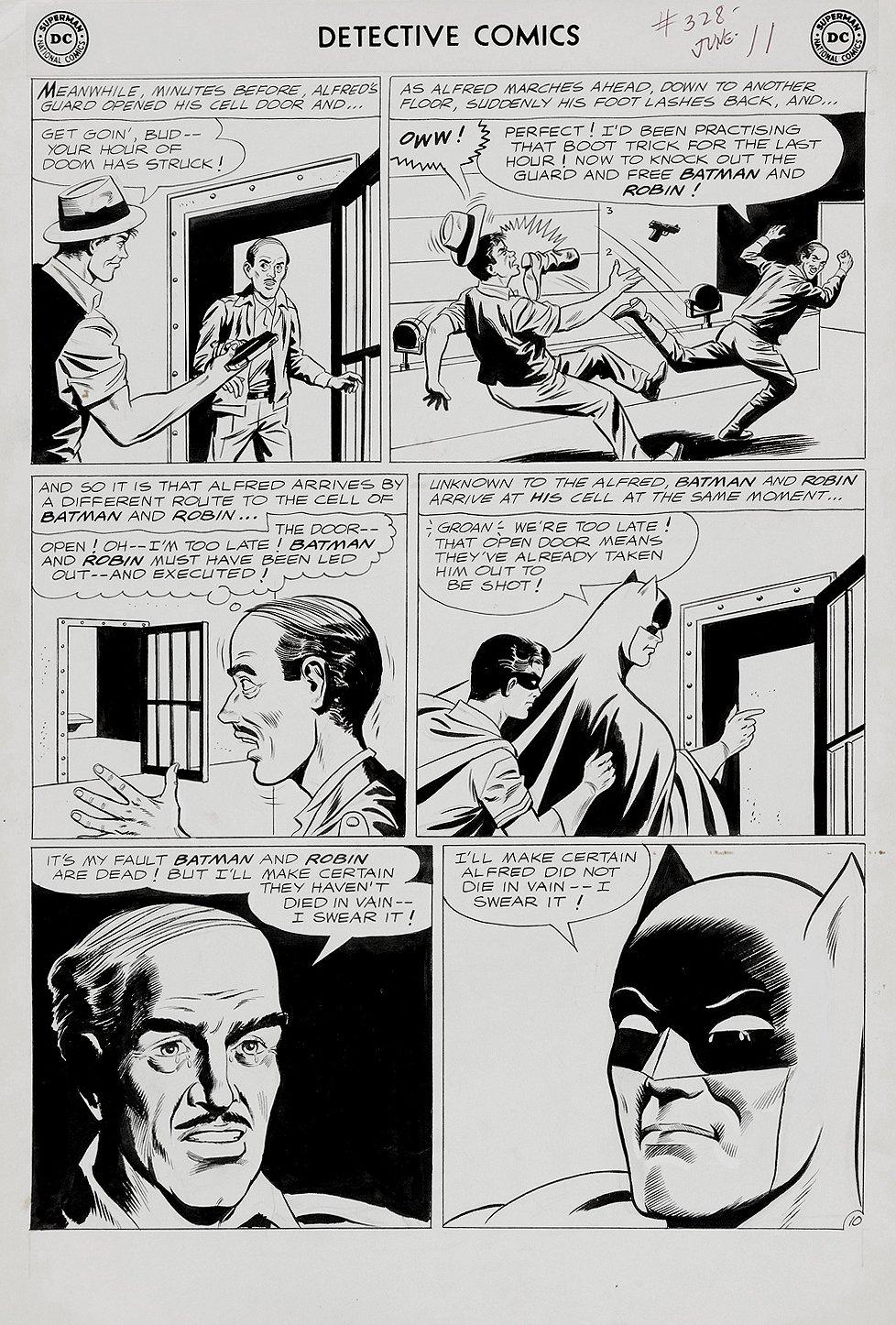 Detective Comics #328 p 10 (Large Art) 1964