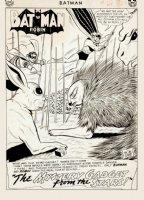 Batman #151 p 1 SPLASH (Large Art) 1962  Comic Art