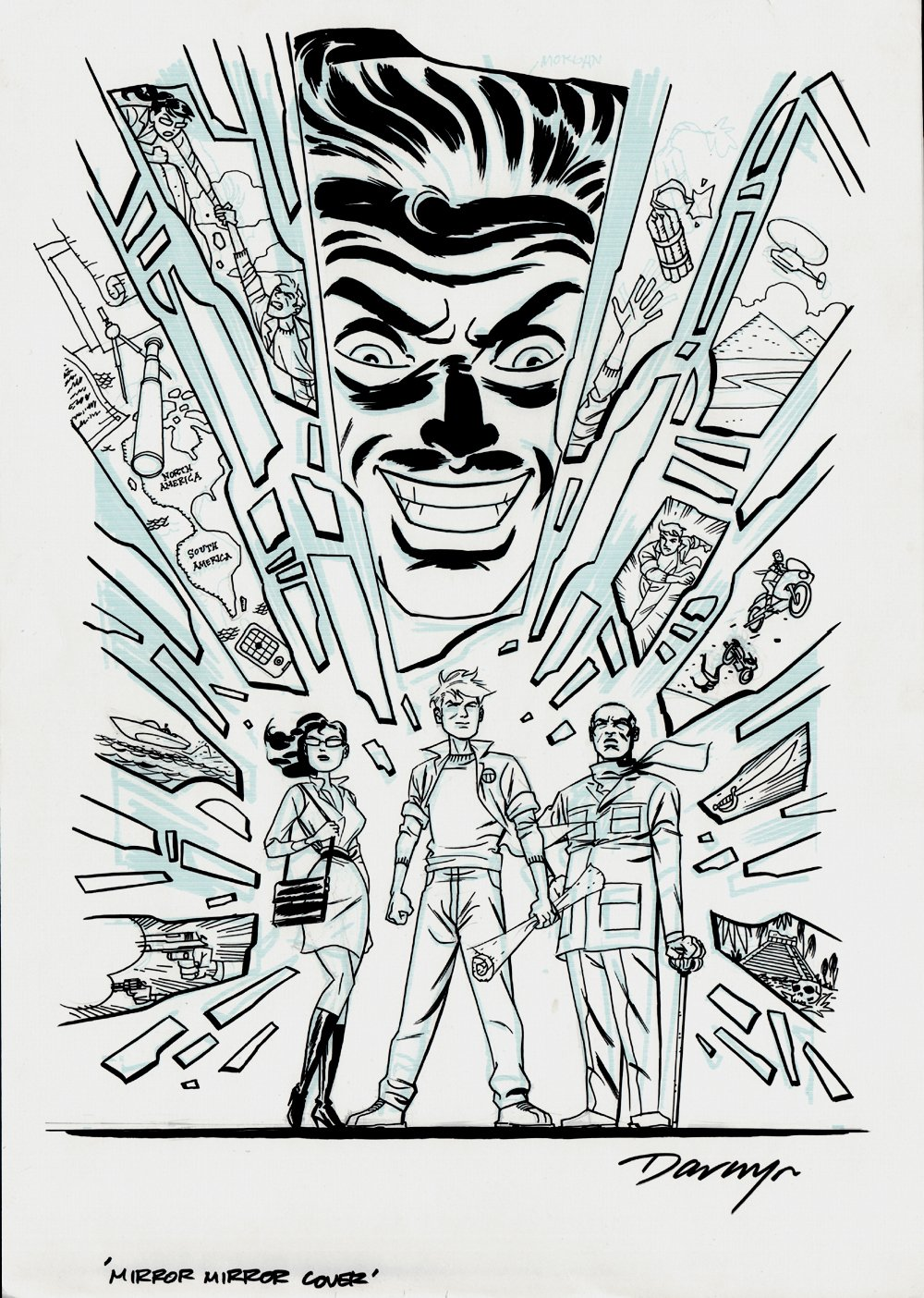 Mirror Mirror #1 Cover (Large Art) 2010