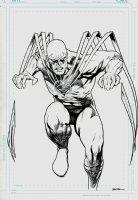 Birds of Prey #4 Cover (2010) Comic Art