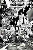 DC Entertainment Essential Graphic Novels And Chronology Cover (2013) Comic Art