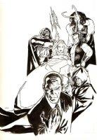 Wizard Magazine #207 Marvel Dark Reign Cover  Comic Art