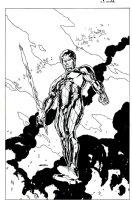 X-O Manowar #13 cover (2013) Comic Art