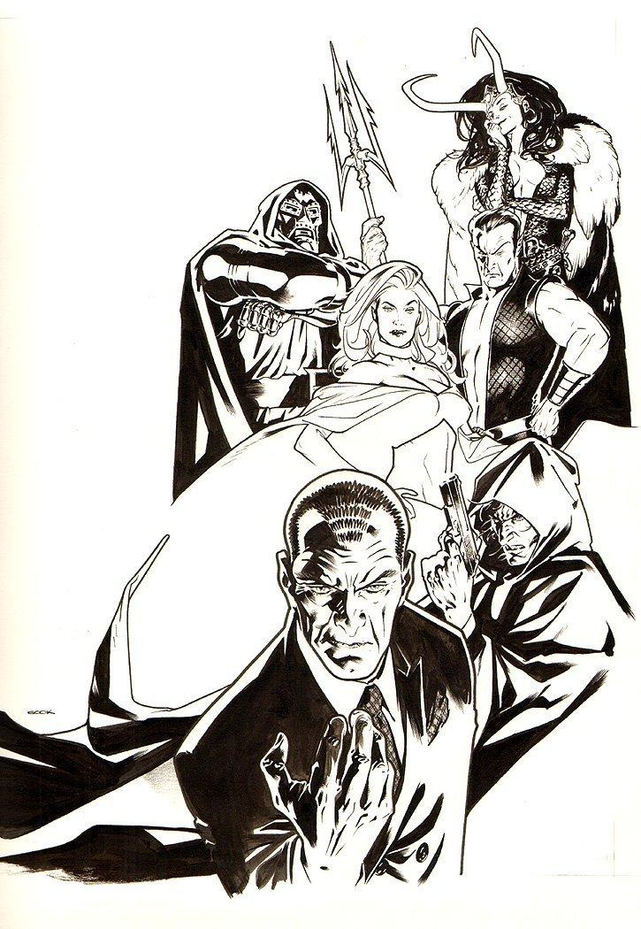 Wizard Magazine #207 Marvel Dark Reign Cover