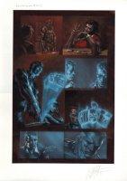 Secret War Issue 1 Page 1 (2004) Comic Art