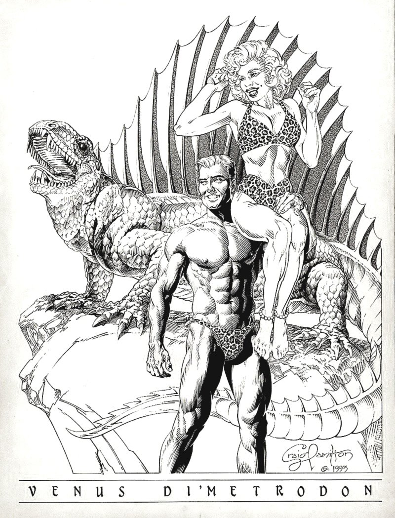 'VENUS DI'METRODON' Poster Art (1993)