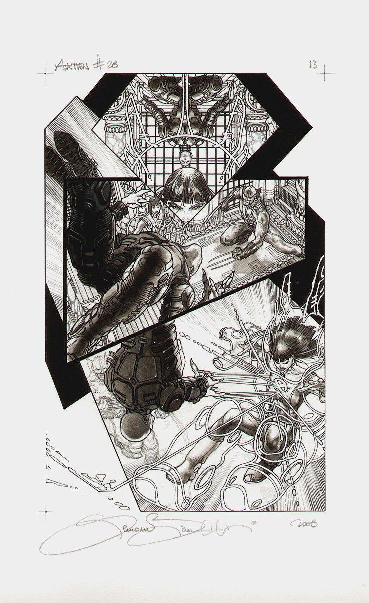 Astonishing X-Men #28 p 13 (2008)