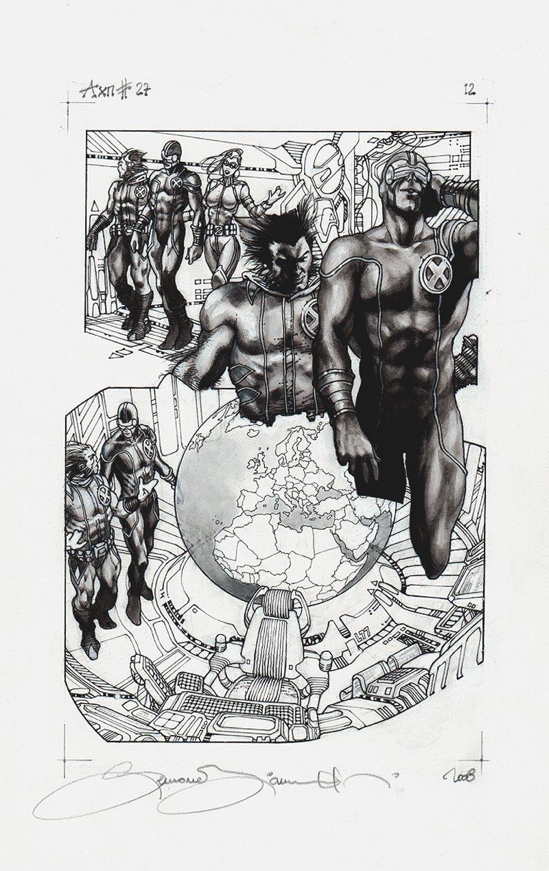 Astonishing X-Men #27 p 12 SPLASH (2008)