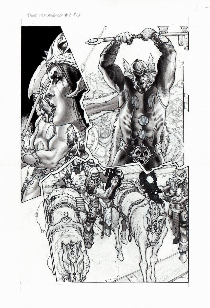 Thor: For Asgard #2 p 13 (2010)