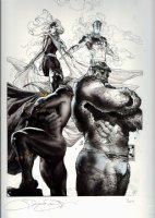 X-Men Giant-Size #1 Cover, FF 50th Anniversary Cover (BLACK PANTHER -Large Art) 2011 Comic Art