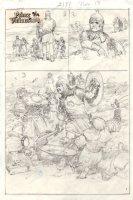 Prince Valiant Sunday Prelim Illustration Comic Art