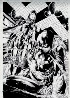 Batgirl #13 SPLASH (2012) Page d Comic Art