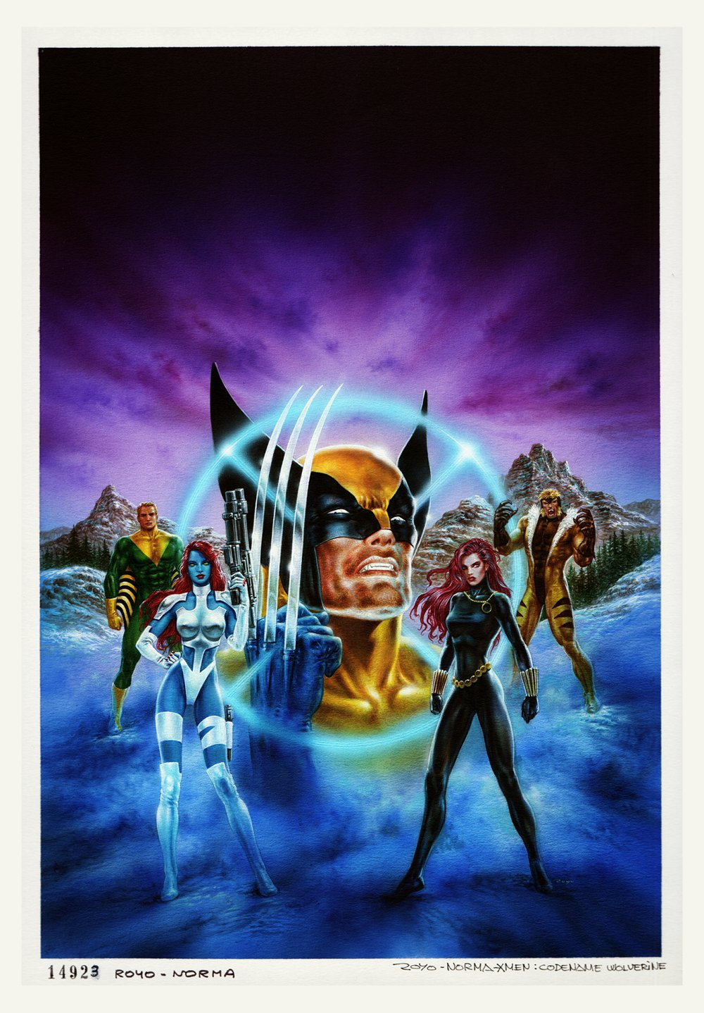 X-Men: 'Codename Wolverine' Cover Painting