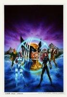 X-Men: 'Codename Wolverine' Cover Painting Comic Art