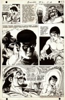 Bomba the Jungle Boy  Issue 6 Page 18  (1968) Comic Art