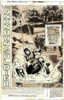 Star Spangled War Stories #168 UNKNOWN SOLDIER Complete 14 Page Story (1972) Comic Art