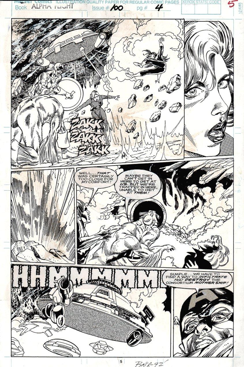 Alpha Flight #100 p 5 (1991)