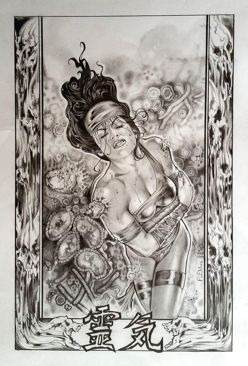 Elektra #34 Cover (2004)
