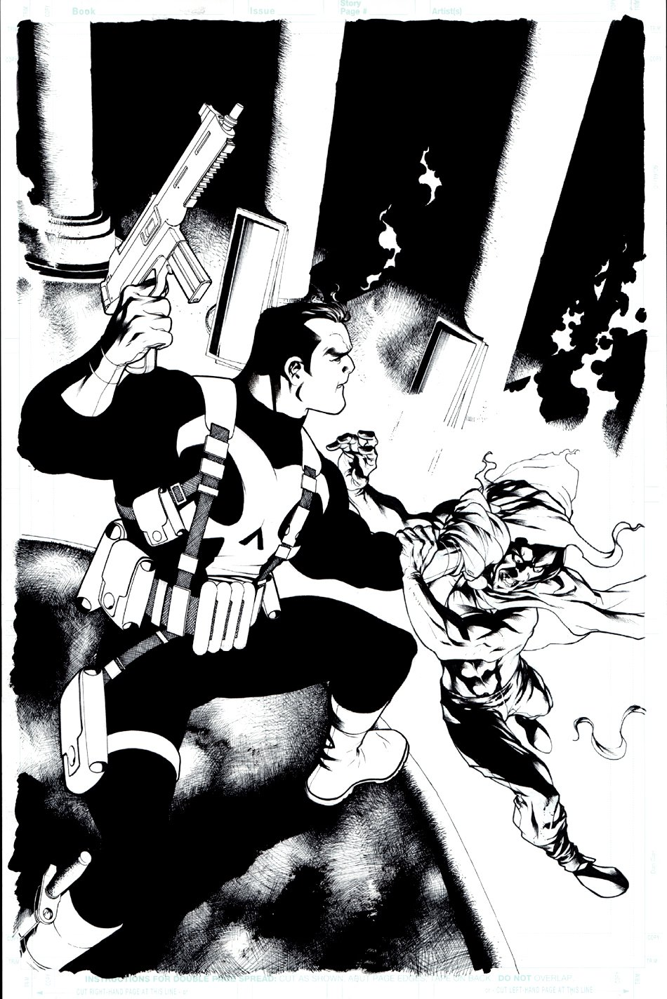 Punisher #10 Cover (2009)