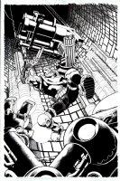 Punisher #13 Cover (2009) Comic Art