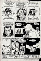 Daredevil #211 Last Page (1984) Comic Art