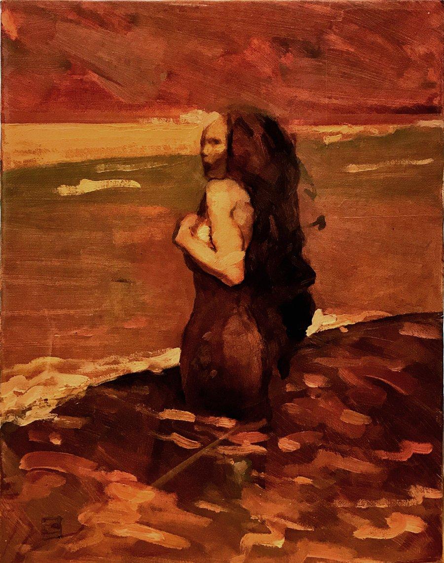 'Siren' Oil Painting