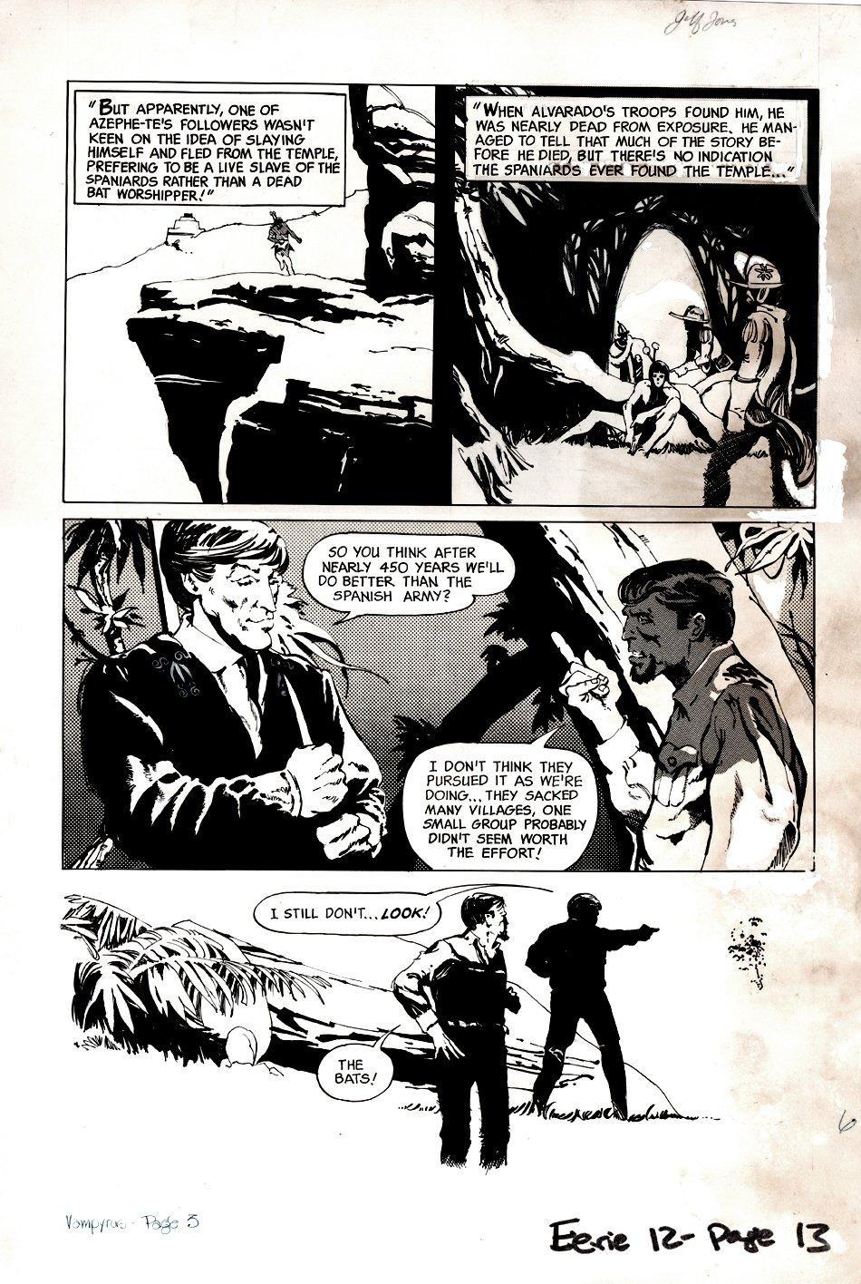 Eerie #12 p 3 ( Oversized Art) 1967
