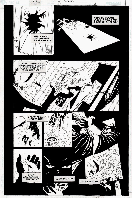 100 Bullets #36 p 13 (2002)