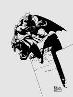 Batman Pinup Comic Art