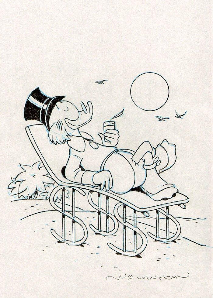 Walt Disney's Uncle Scrooge #378 Cover (2003)