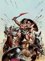 Savage Sword of Conan #90 Cover Painting (Very Large) 1983 Comic Art