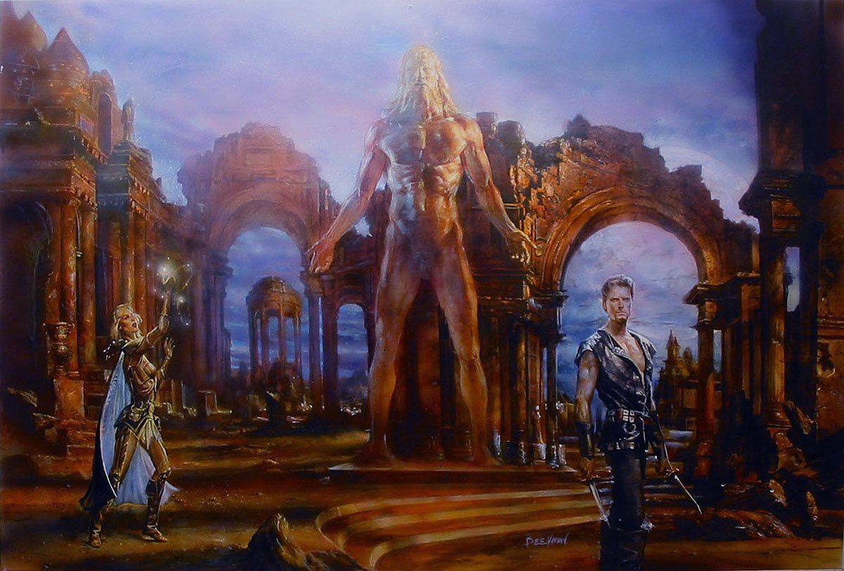 Heroes Die HUGE Published Cover Painting