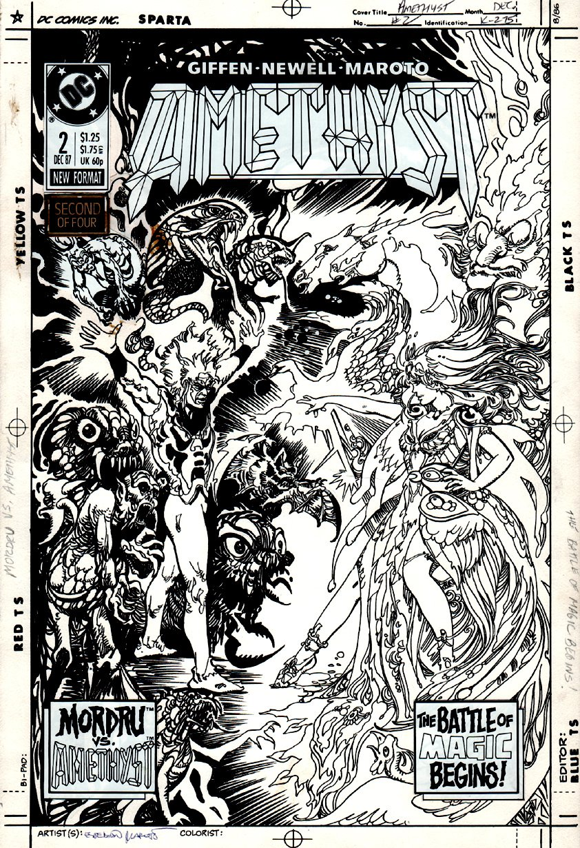 Amethyst #2 Cover (1987)