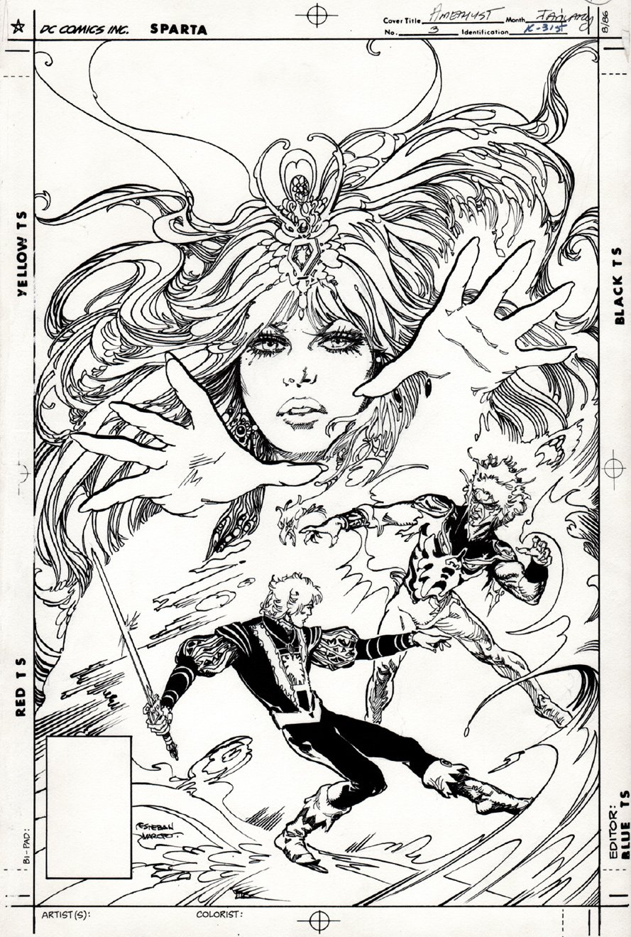 Amethyst #3 Cover (1987)