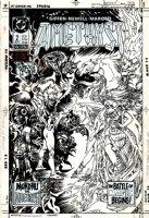 Amethyst #2 Cover (1987) Comic Art